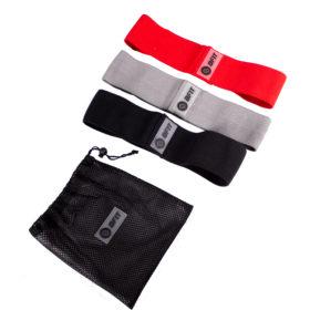 Black, Grey, Red